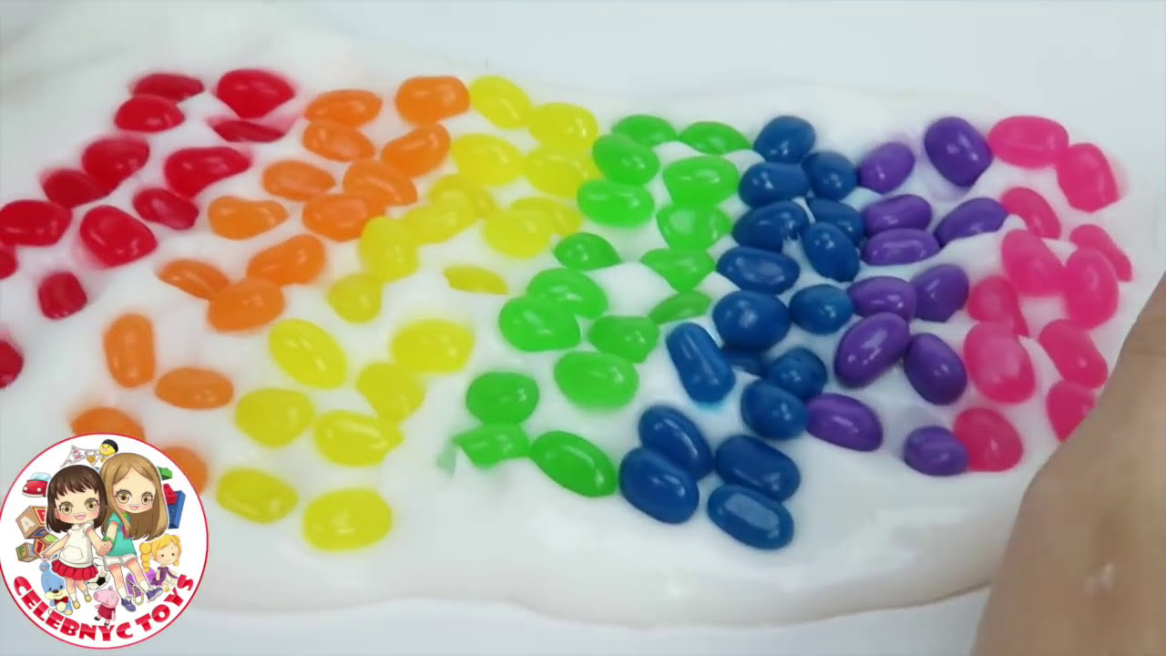 Diy jelly bean slime home made rainbow colors tutorial how to make diy jelly bean slime home made rainbow colors tutorial how to make slime without borax ccuart Image collections