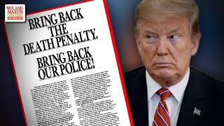 Roland Martin: 'Despicable' Donald Trump Doesn't Have The Guts To Apologize To The Central Park Five