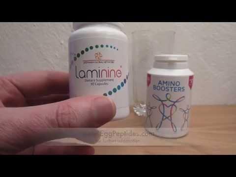 Laminine vs Amino Boosters