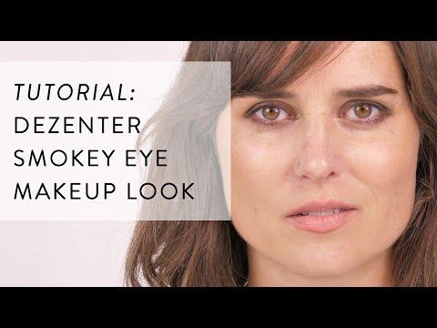 Braunes Smokey Eye Einfach Schminken — Amazingy Makeup School // Tutorial Mit ILIA, Kjaer Weis & Rms