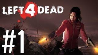 Играем в Left 4 Dead - часть 1 Пончики о О