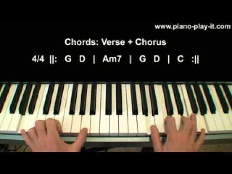 Knocking On Heavens Door Piano Tutorial Youtube