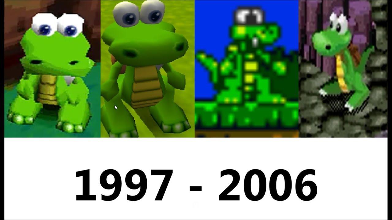 Download Evolution of Croc (1997 - 2006)