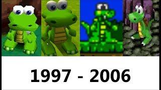 Evolution of Croc 1997 - 2006