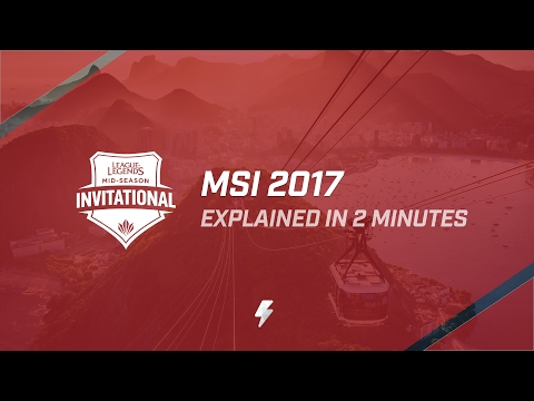 MSI 2017 Rules and Format, explained in 2 minutes