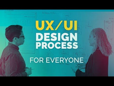 Now on Skillshare! UX/UI Design Process and Theory for Everyone - Part 1