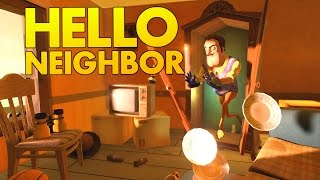 Hello Neighbour - Secret Ending and Cutscenes Mythbusting! - Let's Play Hello Neighbor Gameplay