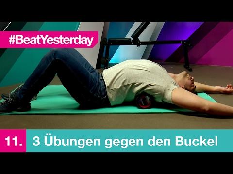 Beat Yesterday #011 | 3 Übungen gegen den Buckel