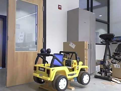 Wi-Fi Controlled Power Wheels Jeep