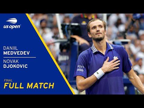 Daniil Medvedev vs Novak Djokovic Full Match   2021 US Open Final
