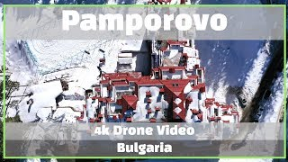 Bulgaria Skiing - Pamporovo Ski Resort, Bulgaria by Drone (4K)