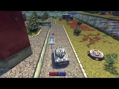 Tanki Online Game Play Sandbox 4 Vs 4 XP/BP