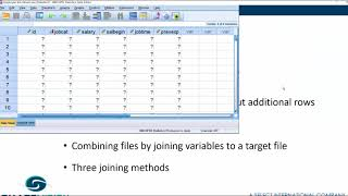 How to merge fiĮes in SPSS