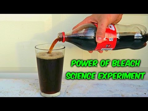 What Will Happen If You Mix Coke and Bleach?