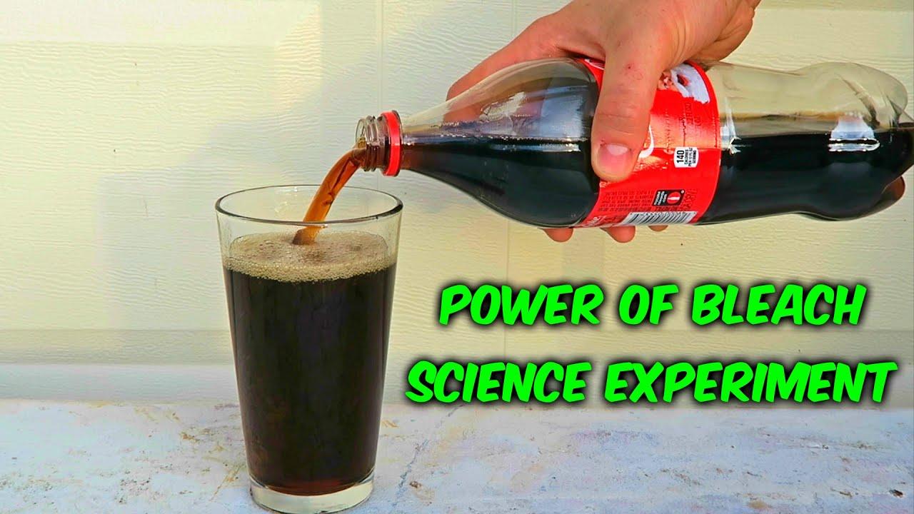 The best home bleach soda