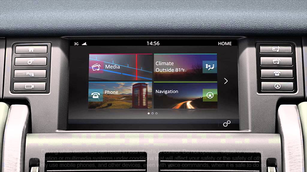 Land Rover Discovery >> Land Rover Discovery Sport Navigation System | Land Rover ...