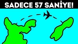 57 Saniye Süren Dünyanın En Kısa Yolcu Uçuşu