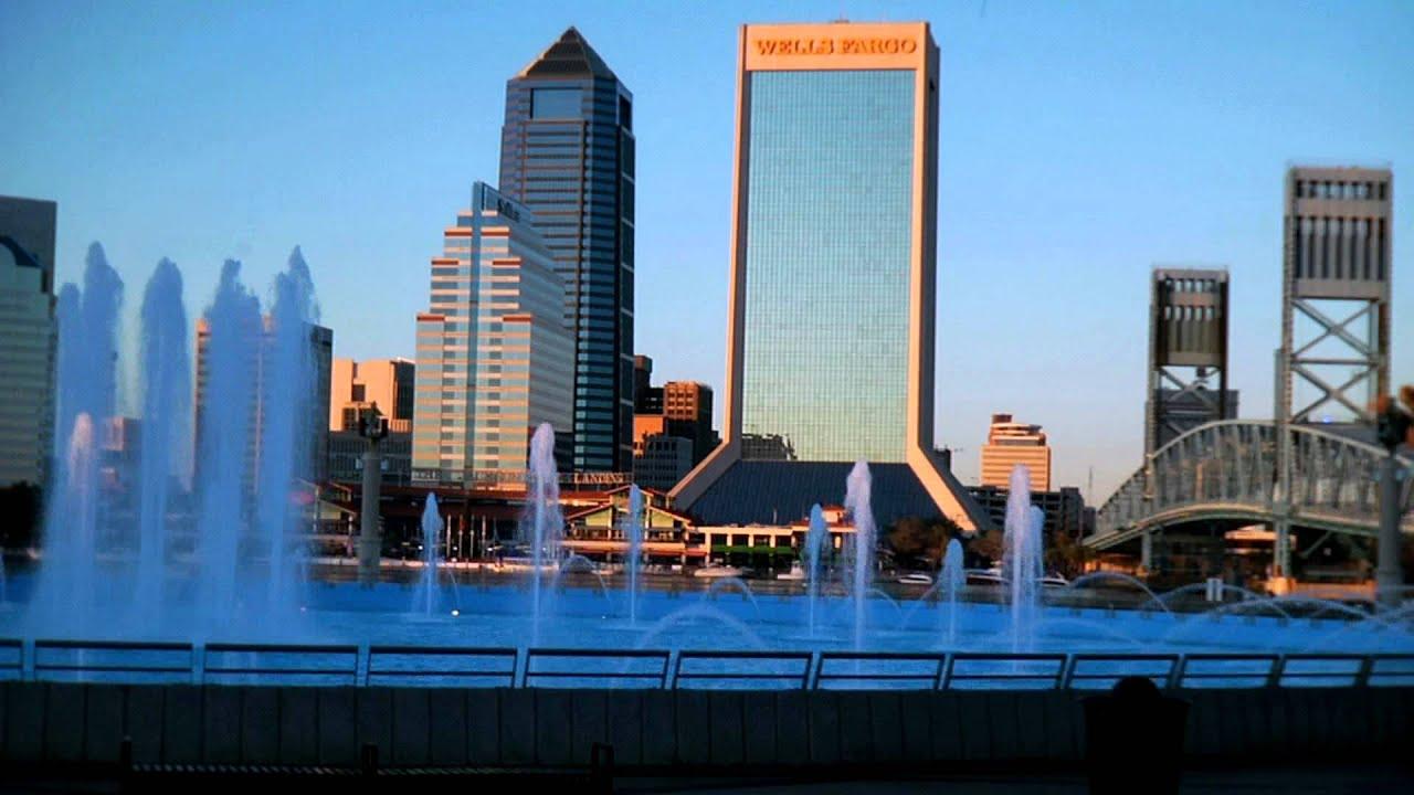 Downtown Jacksonville Fl >> Jacksonville Skyline 12.29.11 - YouTube