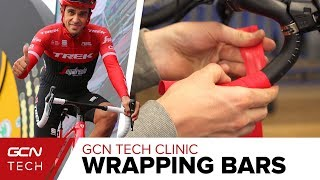 What Is The Right Way To Wrap Cycling Handlebars? | The GCN Tech Clinic
