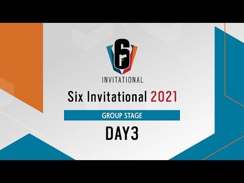 Six Invitational 2021 グループステージ Day3【レインボーシックス シージ】