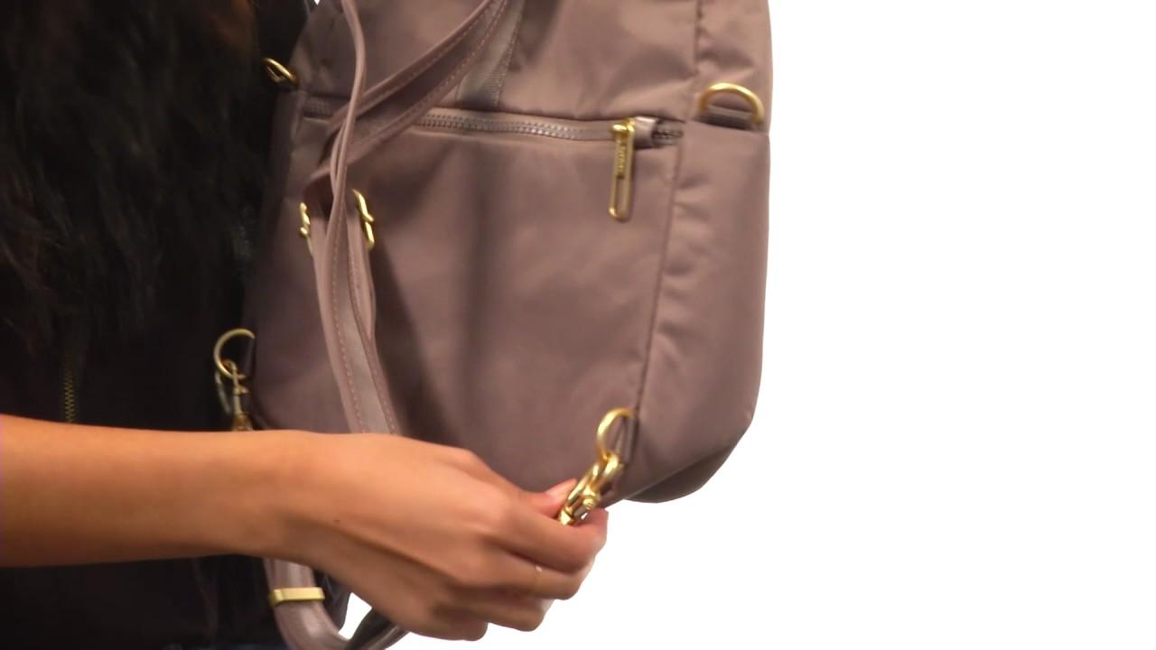 d82a4b4c56e5 Pacsafe Citysafe CX Convertible Backpack SKU 8872033 - YouTube