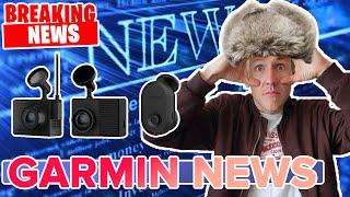 Новинки от Garmin DASH CAM 67W, Tandem, Mini. (Анонс новинок)