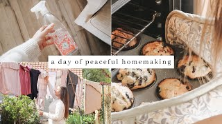 Slow Living & Peaceful Homemaking, Spring Cleaning, Baking Blueberry Muffins ~ English Cottage Life