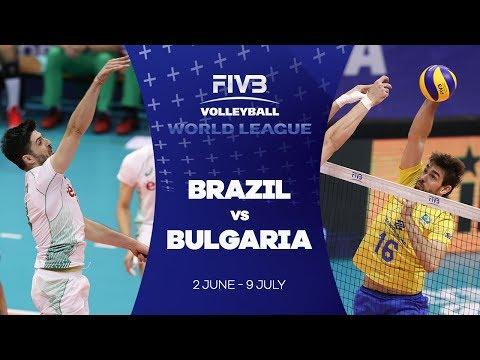 Brazil v Bulgaria highlights - FIVB World League