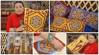 Лоскутное шитье, идеи для декора своими руками #2. Куда применить обрезки тканей - витражи. Пэчворк.