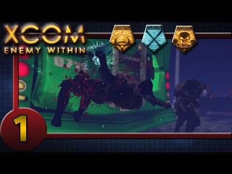 XCOM Enemy Within: #1 - Well That's XCOM For You! |