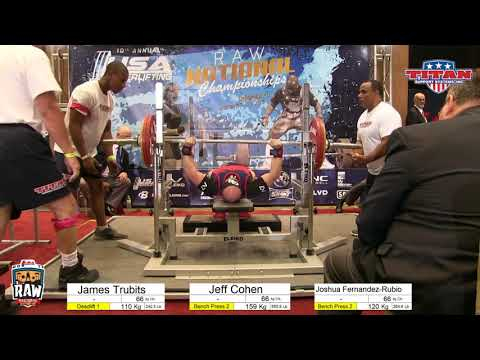 JEFF COHEN  2017 USAPL RAW NATIONALS  10102017
