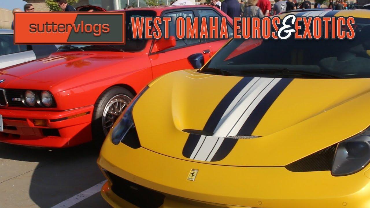 West Omaha Euros Exotics Car Show Corvette Z Ferrari - Omaha car show