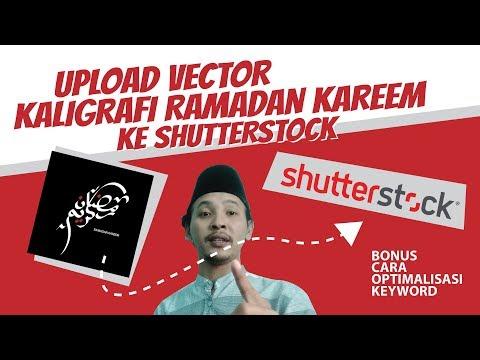 shutterstock-pemula---upload-vector-kaligrafi-ke-shutterstock