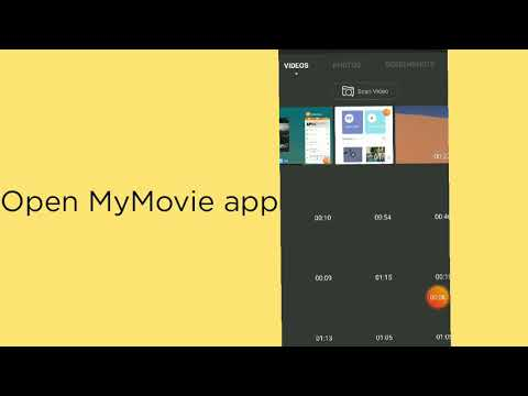 How To Adjust Video Speed In MyMovie?