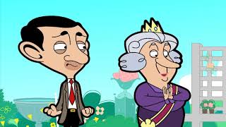 Bean and Queen | Funny Episodes | Mr Bean Official Video