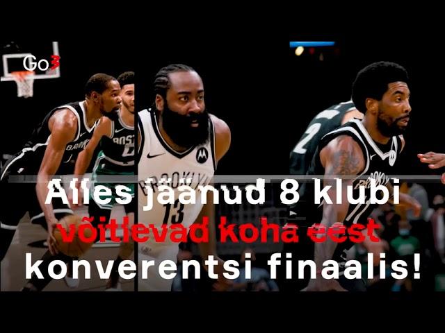 Vaata NBA playoffide teist vooru Go3-s!