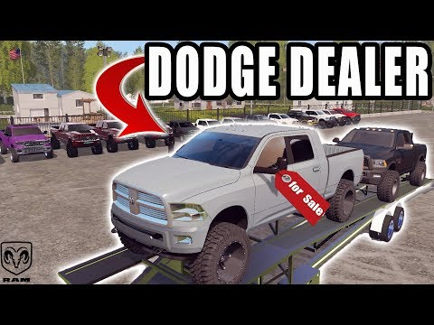 NEW DODGE DEALER IS IN TOWN! | FARMING SIMULATOR 2017 thumbnail