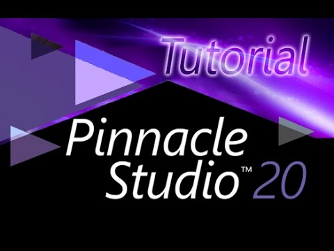 Pinnacle Studio 20 and 20.5 - Full Tutorial for Beginners [+General Overview]*