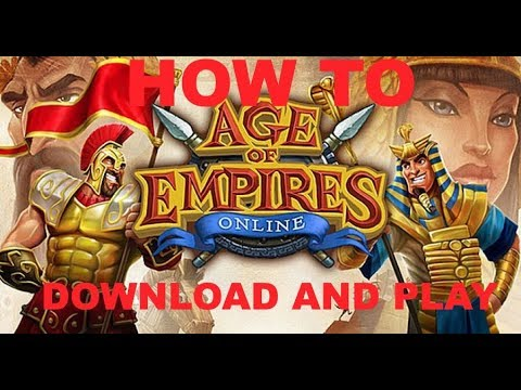 How To Download And Play Ages Of Empires Online Tutorial 2017 (WORKING)