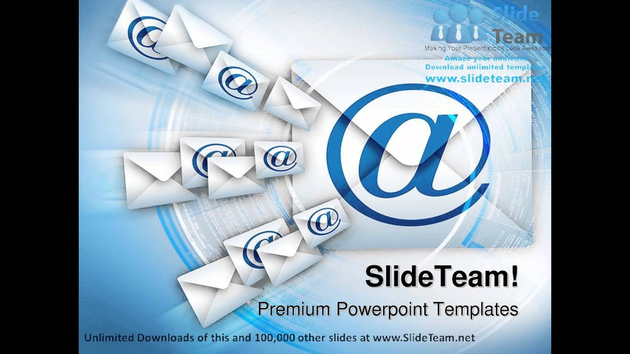 Email Internet PowerPoint Templates Themes And Backgrounds ppt slide  designs - YouTube