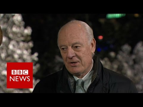 Doubts Over Syria Peace Talks says Staffan de Mistura - BBC News