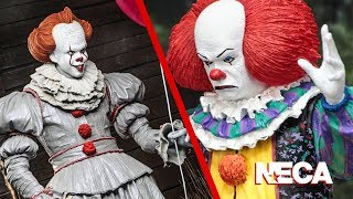 First Look at NECA Stephen King's: IT Pennywise Figures