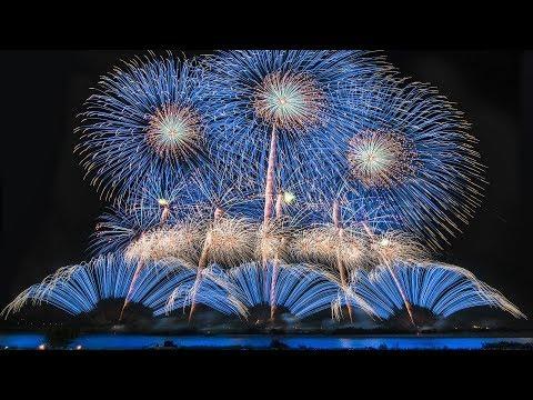[4K] さかいふるさと祭り 利根川大花火大会 2018 ハイライト - Tonegawa Fireworks Display 2018 - (shot on Samsung NX1)