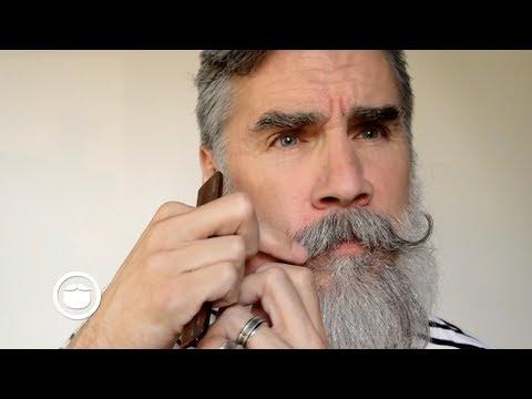 Handlebar Mustache with Loose Curl Tutorial   Greg Berzinsky