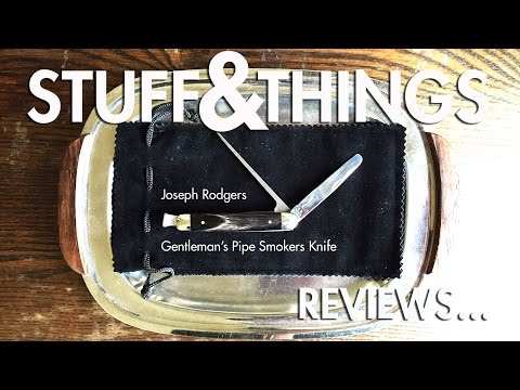 Review: Joseph Rodgers Gentleman's Pipe Smokers Knife
