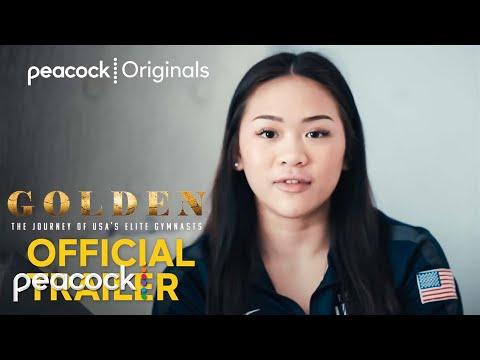 Golden: The Journey of USA's Elite Gymnasts   Official Trailer   Peacock Original