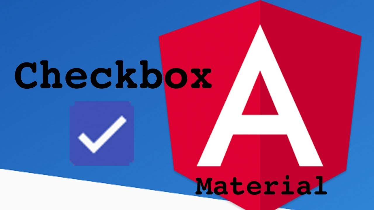 Angular Material Checkbox