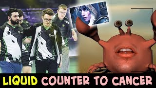 How to COUNTER biggest CANCER by Liquid — Miracle, GH, Matumbaman vs Drow Ranger