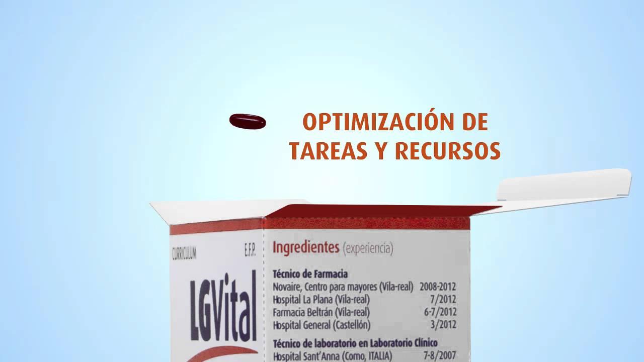 LABORATORIO Y FARMACIA, video-curriculum (Lorena Galván Dibo) - YouTube