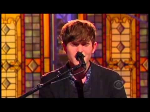 James Blake Retrograde Letterman Performance